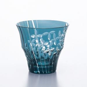 被せ切子 意匠登録済 ハンドメイド クリスタルガラス サイズ:Φ100×H90・M100 300ml...