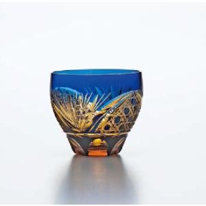 彩花切子 意匠登録済 ハンドメイド クリスタルガラス サイズ:Φ91×H83・M94 310ml 専...
