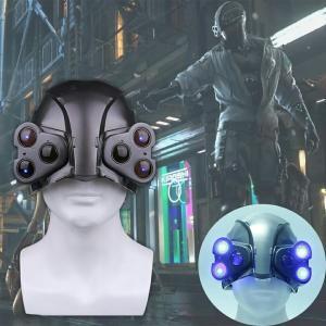 商品名:送料無料 高品質 Cyberpunk2077 サイバーパンク2077 ヘルメット マスク L...