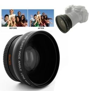 0.45X 52mm Wide 角度 Lens Macro filter Nikon D40 / D...