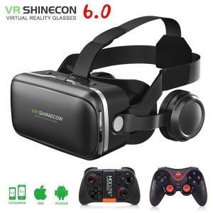 VR shinecon 6.0 3D 眼鏡 box google カードboard virtual ...
