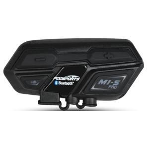 商品名:FODSPORTS バイク インカム M1-S 最大8人同時通話 Bluetooth4.1 ...