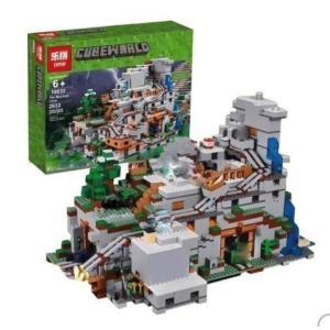 商品名:LEPIN レゴ互換 マインクラフト 山の洞窟 21137相当 2932ピース ブロックおも...