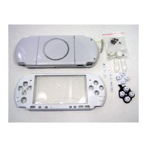 PSP-3000対応外装シェルケース・フェイスプレートセット ホワイト     |suzukiag