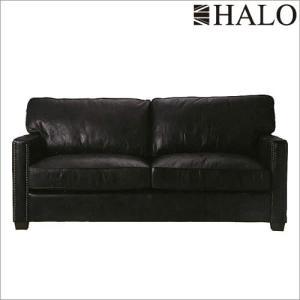 【商品名】HALO:カウントヘンリー2Pソファ(オールドグローブエスプレッソ)  【サイズ】W180...