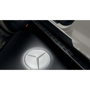 GLE ロゴプロジェクター ベンツ純正部品 LDA CBA  パーツ オプション suzukimotors-dop-net