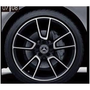 Cクラス(クーペ、カブリオレ) AMG19インチ アルミホイール(5ツインスポーク) ベンツ純正部品 DBA CBA  パーツ オプション|suzukimotors-dop-net
