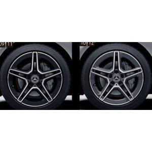 Cクラス(クーペ、カブリオレ) AMG18インチ 5スポークアルミホイール ベンツ純正部品 DBA CBA  パーツ オプション|suzukimotors-dop-net