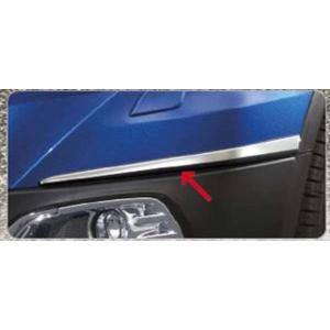 SX4 S-CROSS フロントバンパーモール 左右セット  スズキ純正部品 パーツ オプション|suzukimotors-dop-net