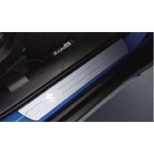SX4 S-CROSS サイドシルスカッフ 1台分(4枚)セット  スズキ純正部品 パーツ オプション|suzukimotors-dop-net