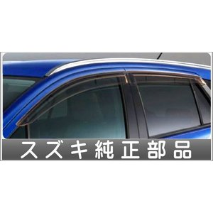 SX4 S-CROSS ドアバイザー 1台分(4枚)セット  スズキ純正部品 パーツ オプション|suzukimotors-dop-net