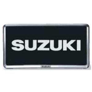 SX4 S-CROSS ナンバープレートリム 1枚より  スズキ純正部品 パーツ オプション|suzukimotors-dop-net