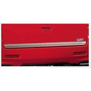 スペーシア カスタムZ バックドアガーニッシュ スズキ純正部品 MK42S  パーツ オプション|suzukimotors-dop-net