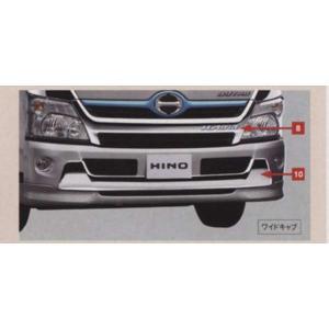 デュトロ メッキフロントバンパー  日野純正部品 パーツ オプション|suzukimotors-dop-net