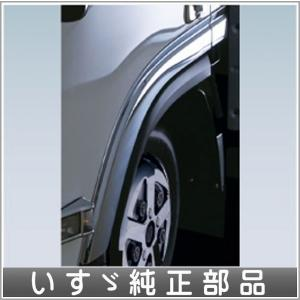 エルフ メッキフェンダーパネルカバーセット いすゞ純正部品 FR6AA FR6AAS〜 パーツ オプション|suzukimotors-dop-net