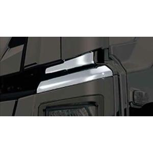 ギガ メッキバンパーアッパーカバーセット いすゞ純正部品 2PG-CYL77C-VX-〜 パーツ オプション|suzukimotors-dop-net