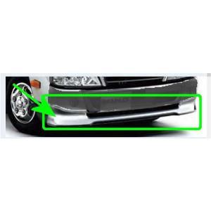 デュトロ フロントスポイラー 標準幅キャブ用 メッキ ヒノ純正部品 TQUMC TQMMB TQFRD  パーツ オプション|suzukimotors-dop-net