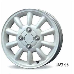 車種名:ラパン 品名:アルミホイール 1本のみ (13インチ) ホワイト  取り付けできる年式:(重...
