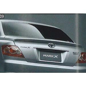 mak009 マークX リヤスポイラー  トヨタ純正部品 パーツ オプション|suzukimotors-dop-net