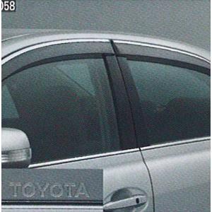 マークX サイドバイザー ベーシック  トヨタ純正部品 パーツ オプション|suzukimotors-dop-net