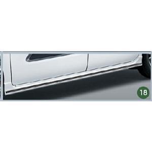 タント サイドスカートモール ダークブラックメッキ ダイハツ純正部品 la650s la660s  パーツ オプション|suzukimotors-dop-net