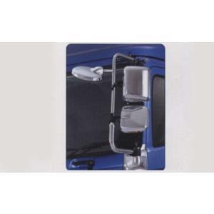 プロフィア メッキミラースティ 標準 左  日野純正部品 パーツ オプション suzukimotors-dop-net