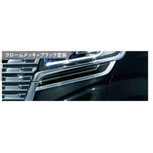 スペーシア ヘッドランプアンダーガーニッシュ 左右セット スズキ純正部品 MK53S  パーツ オプション suzukimotors-dop-net