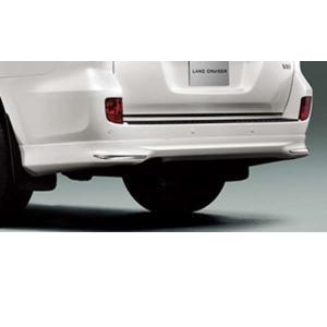 ランドクルーザー200系 リヤバンパースポイラー  トヨタ純正部品 パーツ オプション 【廃止カラーは弊社で塗装】|suzukimotors-dop-net