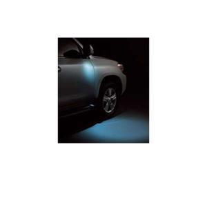 ランドクルーザー200系 ウェルカムライト運転席・助手席(ミラーカバーとロアカバー別売り)  トヨタ純正部品 パーツ オプション|suzukimotors-dop-net