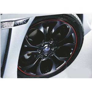 WRX S4・STI 18インチアルミホイール 1枚より  スバル純正部品 パーツ オプション|suzukimotors-dop-net