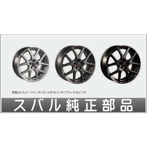 XV STIアルミホイール 18インチ7J+55 1本より スバル純正部品 GT3 GT7  パーツ オプション|suzukimotors-dop-net