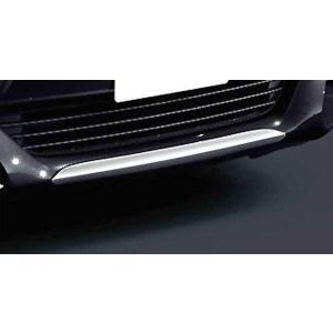 アクア フロントバンパーガーニッシュ メッキ  トヨタ純正部品 パーツ オプション|suzukimotors-dop-net