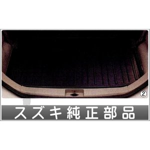 アルト ラゲッジマット(トレー)VP用 ブラック  スズキ純正部品 パーツ オプション|suzukimotors-dop-net