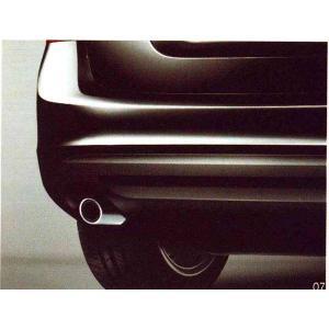 V60 S60 マフラーカッター 円形  ボルボ純正部品 パーツ オプション|suzukimotors-dop-net