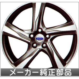 V60 S60 アルミホイール イクシオン 8×18インチ  ボルボ純正部品 パーツ オプション|suzukimotors-dop-net