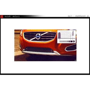 V60 S60 パーキングアシスト・フロント フロント・フレーム左 *本体は別売です  ボルボ純正部品 パーツ オプション|suzukimotors-dop-net