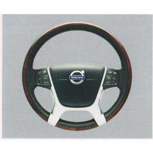 V70 XC70 S80 ウッド・レザーステアリングホイール  ボルボ純正部品 パーツ オプション|suzukimotors-dop-net