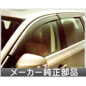 V70 XC70 S80 サイドバイザー クローム  ボルボ純正部品 パーツ オプション|suzukimotors-dop-net