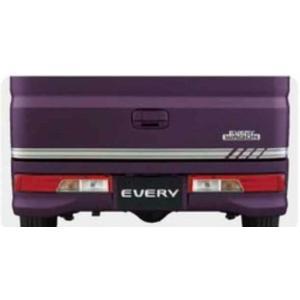 エブリイワゴン DA17W バックドアガーニッシュ スズキ 純正 部品 パーツ 99000-990EJ-BG1|suzukimotors2