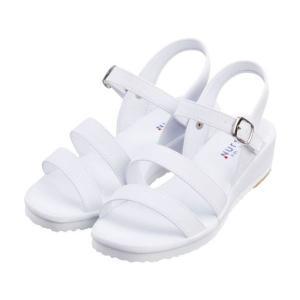 ナースシューズ 白 サンダル (靴 シューズ) (ナース ドクター 医療) suzukiseni