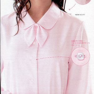 事務服 ブラウス シャツ 2種類のリボンアレンジ 制服おすすめ|suzukiseni