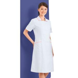 白衣 ナース ワンピース 自重堂 白衣 女性 ピンク ホワイト ブルー 医療 病院 WHISEL こだわり wh11200|suzukiseni