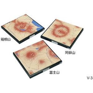 火山地形模型 V-3|suzumori