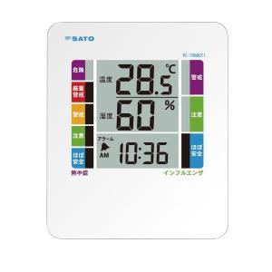 デジタル温湿度計 PC-7980GTI WBGT値 季節性インフルエンザ指数 suzumori