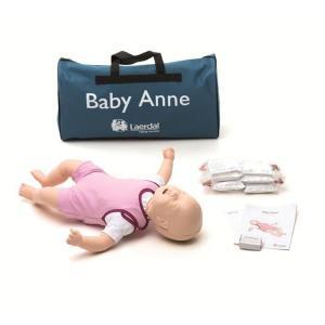 レールダル ベビーアン 乳児 トレーニングマネキン ソフトケース付き 心肺蘇生訓練用人形 Laerdal suzumori