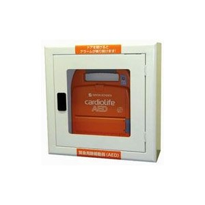 AED収納ボックス 22084 【壁掛け・壁面設置タイプ】 suzumori