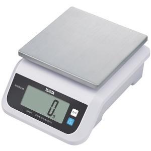 タニタ デジタルスケール(取引証明以外用) 2kg ホワイト KW-210-WH|suzumori