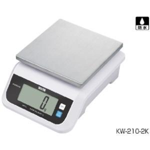 デジタル自動上皿はかり KW-210-5K|suzumori