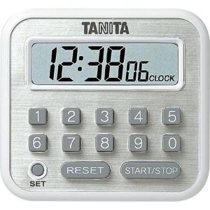 タニタ 長時間タイマー100時間 ホワイト TD-375-WH|suzumori