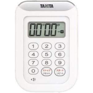 タニタ 丸洗いタイマー100分計 ホワイト TD-378-WH|suzumori